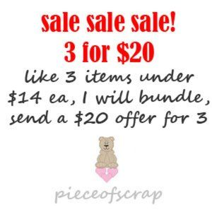 Other - 3 for $20 Sale! Bundle 3 items under $14 each
